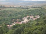 ホッローケー城から見たホッローケー村