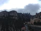 奇石群と修道院