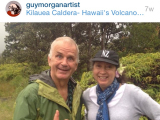 Lee and Fi, Volcanoes National Park Oct 2015