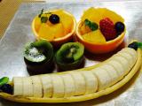 Simple but elegant cut fruit