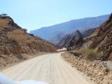 Wadi(渓谷)へ向かう道