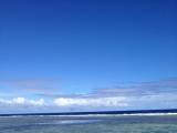 綺麗な青空と海