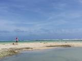 誰もいない砂浜