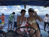 船での写真撮影