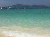 ラチャヤイ島の綺麗なビーチです!