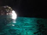 青の洞窟にてスマホ撮影