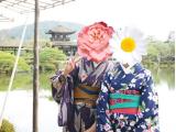 摄于平安神宫神苑(真的很美的庭园~~~)