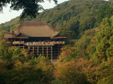 Kiyomizu-dera in the afternoon
