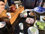 お茶もゆっくり楽しめました