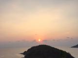 素敵な夕日