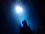 青の洞窟の景色