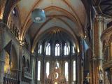 マーチャーシュ教会。バラージュさんは積極的にカメラマンになってくれます。