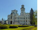白くて美しいフルボカー城
