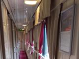 列車の廊下