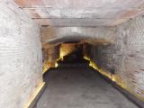 遺跡の地下通路