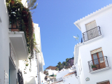 スペインいち美しくといわれている白い村フリヒリアナ