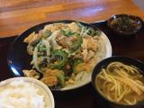 竹富島でのお昼ご飯