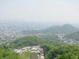 大倉山ジャンプ場のジャンプ台からの眺望