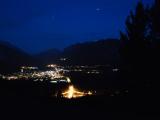 綺麗な夜の町並み
