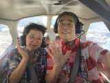 500m上空をご安全に飛行中です。