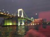 東京灣的夜景
