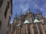 プラハ城内のカテドラル
