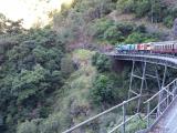 機関車が見えました