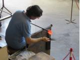 ムラーノ島のガラス工房
