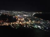 綺麗な夜景、スマホでもこんな感じ