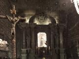 ヴィエリチカ岩塩坑内の礼拝堂です。