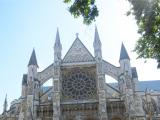 ウエストミンスター寺院の入口方面から