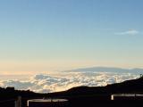 サンセット前、目の前に広がる雲海