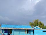 トンサレップ湖水上生活者の家