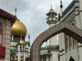 アラブ街・インド街など多民族国家である事がよく判るツアーです