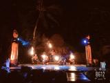 ファイアダンスの一幕