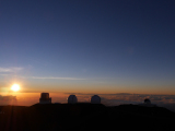 日没のドーム群