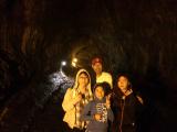 溶岩のトンネル