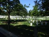 アーリントン墓地(勾配がある坂道を結構歩きました。)