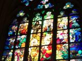 プラハ城 ステンドグラス