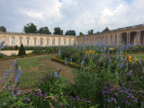 大トリアノンの前の庭園