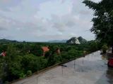 洞窟寺からの風景