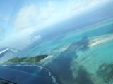 上空から見たココス島