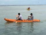 のんびりカヌー体験