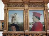 ウルビーノ公爵夫妻の肖像(ウフィツィ美術館)