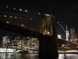 ブルックリン橋とマンハッタン