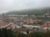 ハイデルベルグ城からの景色