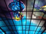 美麗島駅のモミュメント(ガイド本で載ってない本は無い位必須の観光スポット)