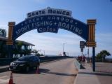 サンタモニカの桟橋へのゲート