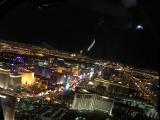 ヘリコプターからの夜景