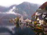 The breathtaking view of Hallstatt